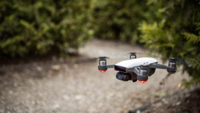 Photo of DJI Spark mini-drone