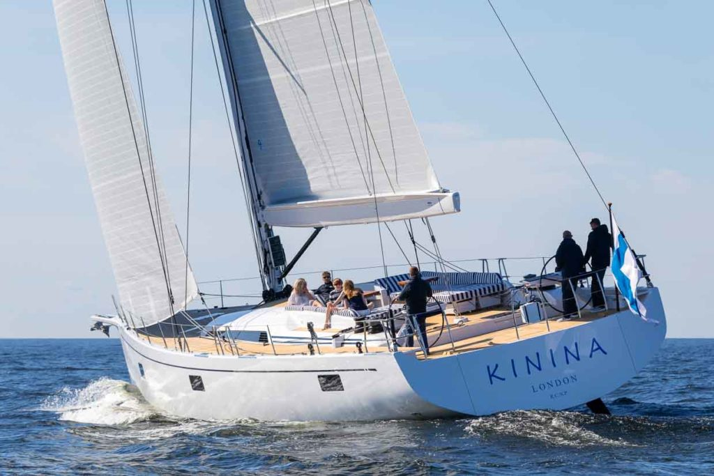 Nautor Swan 78 Kinina TheOne Yacht and Design