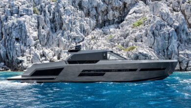 "Photo of Mazu Yachts delivered to owner the new 40-knots ""Mazu 82"""