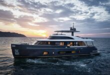 Photo of Open your eyes, created to talk about Azimut's new Yacht