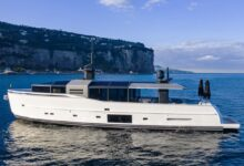 Photo of Arcadia A85 hull 18 launched, a long-time cutting-edge yacht