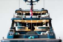 Photo of Royal Huisman is proud to present the 1st images of PHI's scale model